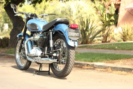 1956 Triumph T110 for sale on EBAY